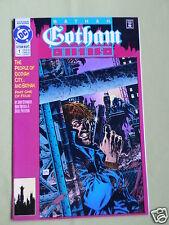 BATMAN GOTHAM NIGHTS - DC COMIC - MAR 1992 - # 1 - VG