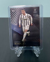Cristiano Ronaldo 1/49 FOTL BLUE 2020-21 Topps On-Demand UCL Knockout Juventus