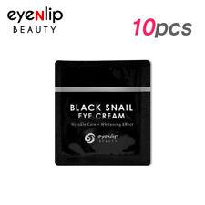 [Eyenlip] Black Snail Eye Cream 1.5ml * 10pcs [Sample] - Best Korea Cosmetic