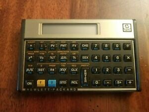 HP 12C Business Financial Calculator Works Great
