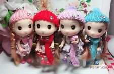 Long Hair dolls, Mini dolls, doll keychain, keychains, key ring, scarf dolls
