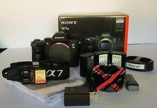 Sony a7 III 24.2 MP Mirrorless Digital Camera - Black *LOTS of EXTRAS*