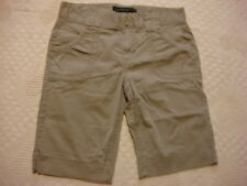 Womens 12 Calvin Klein Tan Walking Shorts Inseam 12""