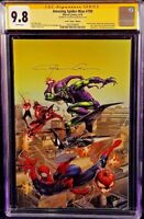 MARVEL Comics SPIDER-MAN #799 CGC SS 9.8 Clayton Crain Virgin VENOM RED GOBLIN