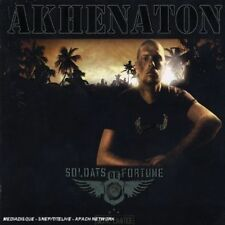 AKHENATON (PHILIPPE FRAGIONE) - SOLDATS DE FORTUNE NEW CD