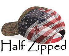 Outdoor Cap American Flag Mesh Back Camo Cap CWF400M Trucker Baseball Hat