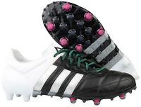 Adidas ACE 15.1 FG AG Fußballschuhe Nocken AF5095 Leder schwarz Gr. 39 1/3 NEU