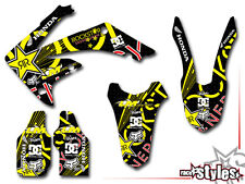 HONDA DECORO DECAL KIT CR CRF 70 125 250 450 500 SX FMX AMA Supercross Ken Roczen