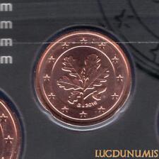 Allemagne 2016 2 centimes G Karlsruhe BU FDC provenant coffret 33000 exemplaires
