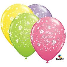 Party Supplies Mothers Birthday Spring Flowers Latex Balloons Pack of 10