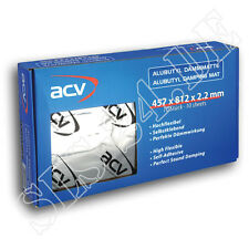 10 x ALUBUTYL DÄMMMATTE 457x812x2.2 mm Audio Material Auto Dämm 30.1236-10 ACV