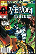 Venom: Sign of the Boss #1 (1997) VF- Marvel Comics