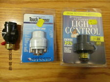 Vintage Lot Of Three Light Controls Dimmer Pull Switch