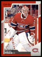 2020-21 UD O-Pee-Chee Red Border #13 Carey Price - Montreal Canadiens