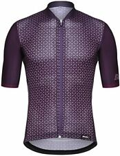 Santini Men's Sleek 99 Short Sleeve Cycling Jersey in Bordeaux
