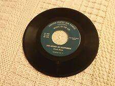 DINAH SHORE  THE SECRET OF HAPPINESS UNITED STATES AIR FORCE MUSIC IN THE AIR M-