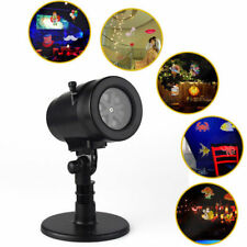 14 Patterns LED Moving Laser Projector Landscape Stage Light Party Xmas Outdoor