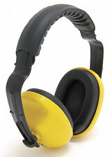 10 x Blackrock Yellow Comfort Headband Ear Defenders 25db Safety Muffs (7210200)