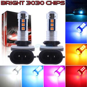 NEW 2x 3030 30SMD LED Bulbs Kit Fog Lights Super Bright Wholesale 9005 9006 H11