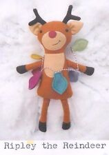 PATTERN - Ripley the Reindeer - cute softie/toy PATTERN by Frazzy Dazzles