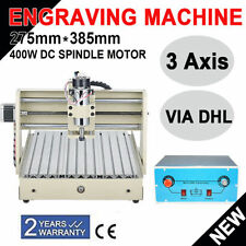 3 Axis 3040T CNC Router Enngraver 400W Engraving Drilling Milling Cutter Machine