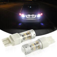 2pcs 140W Bright White LED Bulbs Backup Reverse Lights For Nissan Subaru Honda