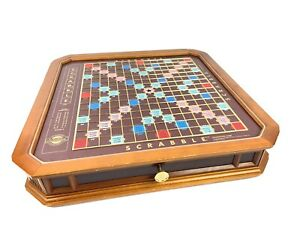 Franklin Mint Scrabble   The Collector's Edition 24 Karat Gold Plated Set 1990s