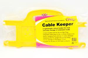 W4 Cable Keeper Holder Reel Keep Your 35M Mains Hook Up Tidy Caravan Motorhome