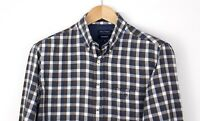 GANT Men Edgemere Heather Twill Regular Casual Shirt Size M AMZ906