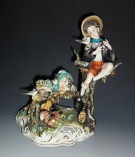 "Italy Capodimonte Porcelain Figurine by Tiziano Galli, ""First Love"" Primo Amore"