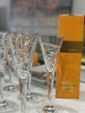 Jasper Conran Stuart Crystal Champagne Glasses- Aura (set of 8 Glasses)