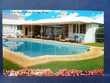 Postcard CA Palm Springs Bob Hope's Palm Springs Home