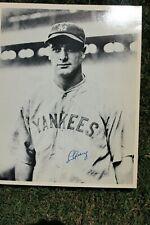 Lou Gehrig 8 x 10 Photo Facsimile Signature 1940's 1950's