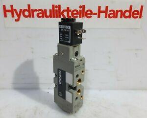 Bosch 0820022026 Pneumatikventil  5/2 Wegeventil 24V Magnetventil Neu/New