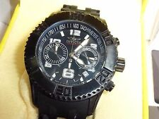 Invicta 22454 Men's SeaSpider Chronograph Black Ion-Plated Stainless Steel Watch