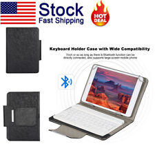 7 inch Tablet Universal Protective Case Cover Bluetooth Keyboard for Android/IOS
