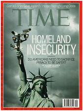 news magazine TIME May 13, 2013 HOMELAND INSECURITY
