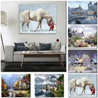 50cm DIY Paint By Number Kit Digital Oil Painting Art Wall Home Room Dec
