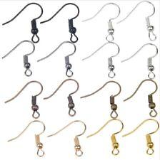 Earring Hooks Blanks Clasps Wire Jewellery Makings Findings Plated Fittings Base