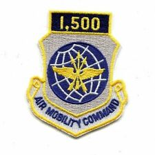 US US Air Force Air Mobility Command 1,500 Flight Hours Military Patch