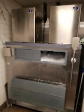 Manitowoc Nugget Style 1000 Pound Ice Maker X 2 With Remote Refrigeration X 2 An