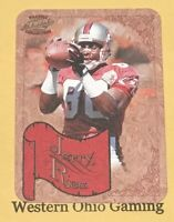 1997 Pacific Philadelphia Collection Jerry Rice #33 NFL Photoengravings Card