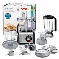 Bosch MC812M844 MultiTalent 8 Procesador de Alimentos Robot de Cocina 3,9L 1250W