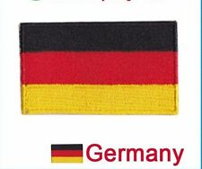 Small Germany Flag Iron On Patch 2.5 x 1.5 inch Free Shipping German
