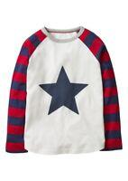NEW RRP £30 Mini Boden Applique Superstar T-Shirt (U4)