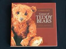 Christie's CENTURY OF TEDDY BEARS, Leyla Maniera, Hardcover & DJ, LNC, Free Ship