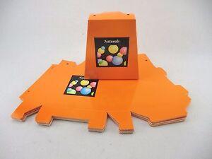 30 FLAT PACK ORANGE NATURALS IFT BOXES<GREAT VALUE >4 POT POURRI/COSMETICS