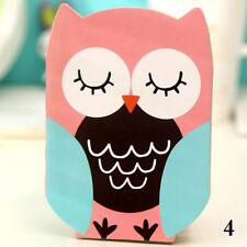 Portable Notebook Pocket List Cartoon Notepad Cute Owl Diary.Shopping.Journal #4