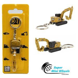 CAT Micro 320 Hydraulic Excavator Keychain - Diecast
