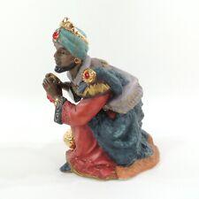 "Kirkland Porcelain Nativity #75177 Replacement King Bowing 6 x 5 x 4"""